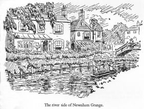 Newnham Grange from the River